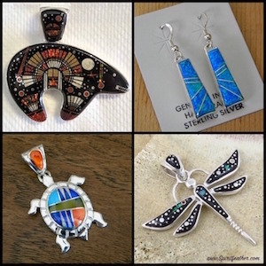 Native American Indian High Quality Inlay Jewelry