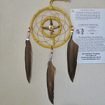 Large Medicine Wheel with and Dream Catcher 2