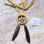 Authentic Native American Medicine Wheel Necklace