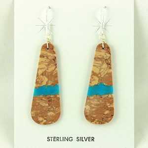 Earth Tone and Turquoise earrings