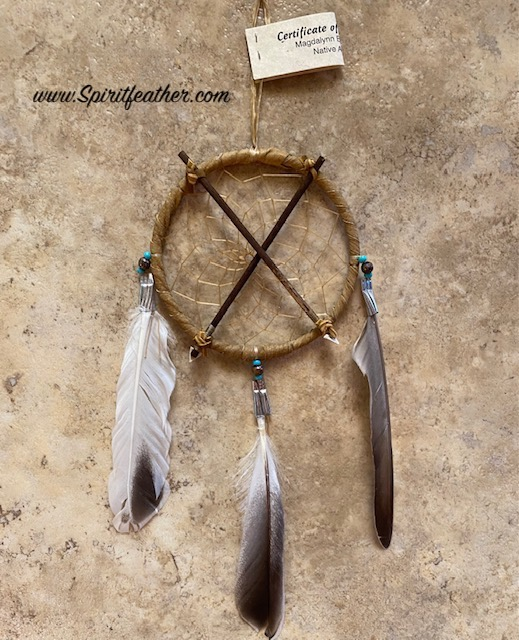 Authentic Native American Crossed Arrows Friendship Dream Catcher 4
