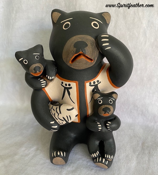 Native American Bear Storyteller SALE