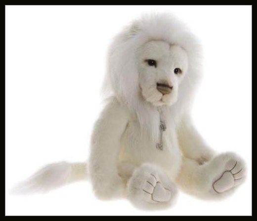 Dandy the White Lion
