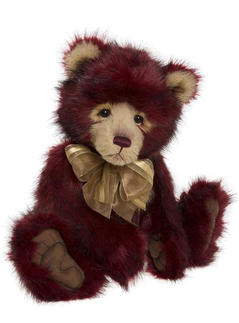 Dobby our Deep Red Beautiful Bear