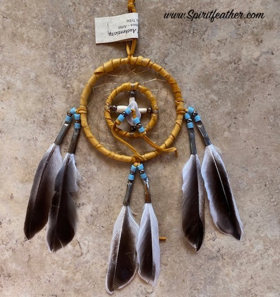 Authentic Medicine Wheel and Dream Catcher - two hoops 3
