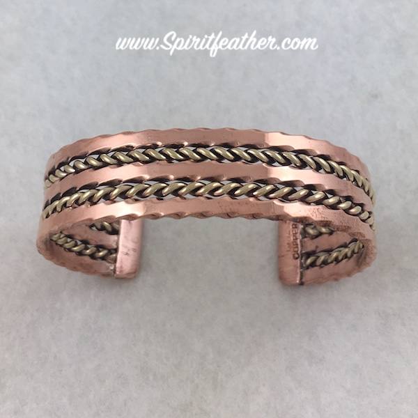 Copper Bracelet - five prong style by Tahe