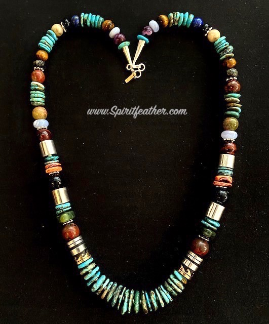 Turquoise Necklace by Rosita and Tommy Singer 28