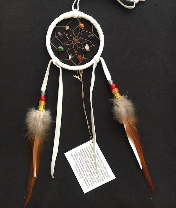 Authentic Native American Spirit Stone Dream Catcher 3