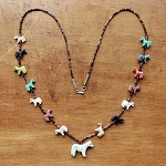 Horse Fetish necklace