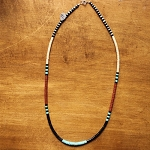 Heishi Bead Necklace, Santa Domingo Pueblo, NM 25