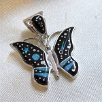 Fred Begay Butterfly Pendant