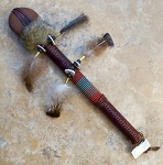 Native American Stone War Club