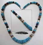 Turquoise Necklace by Rita and Tommy Singer