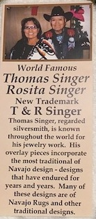 Turquoise Necklace By Rosita Tommy Singer