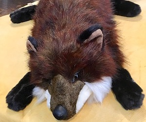 Realistic Red Fox Hug Stuffed Animal